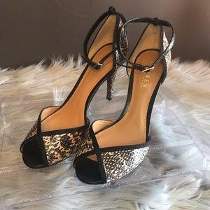 Shoes - Lauren Ralph Lauren strappy heels sz 8.5B